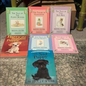 Mix Lot of 7 kids soft back books gently used